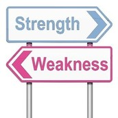 How Strengths and Weaknesses Fit my Perception