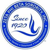 Honoree : Zeta Phi Beta Inc