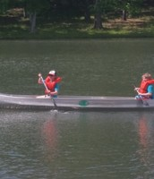 Canoeing-Activity 4   Gage and Brayden working together!