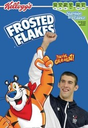 Even Olympic swimmer Michael Phelps likes frosted flakes