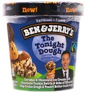 Ben & Jerry's new flavor The tonight dough.