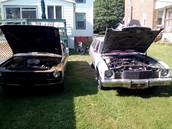 Both my cars together!