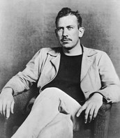 "John Steinbeck - Author of ""Of mice and Men"""
