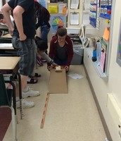 We changed the position of the car- it has more potential energy!