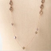 Annabelle Necklace (Rose Gold)