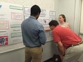 KHS Students Pranav and Kate at the Waksman Student Scholars Program at Rutgers