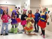 3rd period Girls Halloween Costumes!