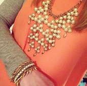 Daliah Bib Necklace
