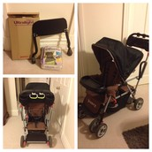 Joovy Ultralight Caboose Stand-on Tandem Double Stroller
