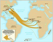 Slavery Routes from Africa