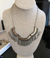 $44.25 Twilight Fringe Necklace