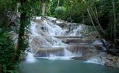 Dunn's River Falls - Geology
