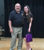 Mr. Davis and Veronica Ulatowski