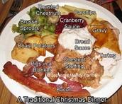 UK Christmas food titles