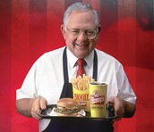Dave Thomas owner of Wendys