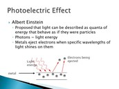 PhotoElectric effect explained.
