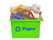 Recycle paper!