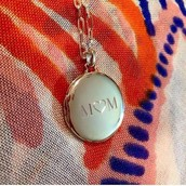 THE ENGRAVABLE LOCKET $89