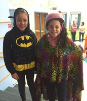 Super heroes ready for the job!