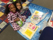 Look at these two awesome readers!