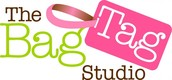 The Bag Tag Studio where you can create stylish and personalised luggage and bag tags.