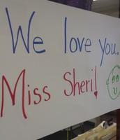 KCA LOVES you Miss Sheri!