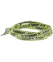 SOLD !!!!!!!!!!!!     Wanderlust Triple Wrap Bracelet - Green