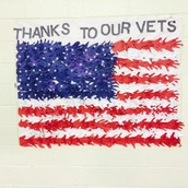 3rd graders Thank our Veterans!