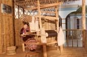 Classic way of weaving