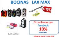 BOCINAS LAX