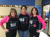 100th days of school for Kinder Team!