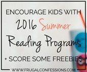 Summer Reading and Freebies!