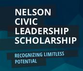 Nelson Civic Leadership Scholarships