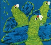Parrots Over Puerto Rico by Susan L. Roth and Cindy Trumbore