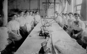 Women that worked in The Triangle Shirtwaist Company