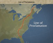 Map of the Proclamation Line