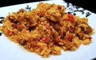 Arroz con Pollo y Chorizo (Chicken and Rice with Sausage)