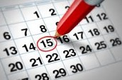 Major/minor Registration: April 13 to April 16th