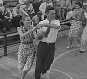 We enjoy dancing during the summer festival