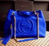 Blue Gucci Bag