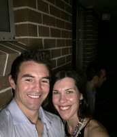 BEC and Ryan at Letitia's Engagement Party in November