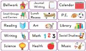 Class Schedule / Instructional Minutes