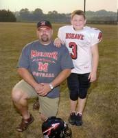 Jordan with his dad