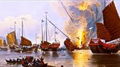 Battle of Opium war 2