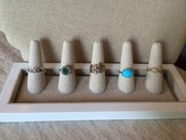 RIngs - All Size 9 - Each $20