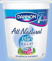 Un Yaourt Nature-Yogurt Natural