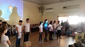 תלמידים מצמיחים מספרים על מטרת התכנית ועל תפקידם בשטח