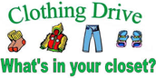 PTA Clothing Drive