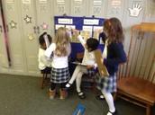 First Grade team work.