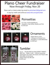 PSHS Cheer Poinsettia Fundraiser